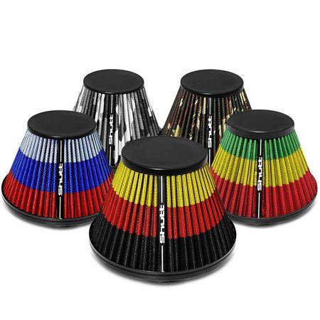 Filtro-de-Ar-Esportivo-Tunning-MonoFluxo-85mm-Conico-Lavavel-Especial-Shutt-Base-Maior-Potencia-connectparts---1-