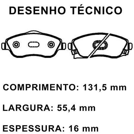 Pastilha-de-Freio-Dianteira-General-Motors-Montana-1.8-2003-a-2010-Modelo-Varga-TRW-ECO1016-Ecopads-connectparts---2-