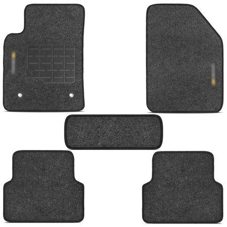 jogo-de-tapetes-carpete-chevrolet-sonic-hatch-e-sedan-2012-a-2015-grafite-bordado-5-pecas-connectparts---2-