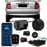 Kit-Alarme-Positron-PX360BT---Abertura-Porta-Malas-GM-Corsa-Classic-05-a-09-Abre-Botao-Alarme-connect-parts--1-