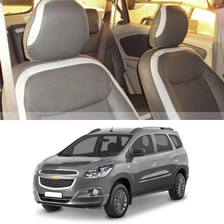 Revestimento-Banco-Couro-Chevrolet-Spin-2012-a-2018-Grafite-Padrao-Montadora-Bipartido-16-pecas-connectparts---1-
