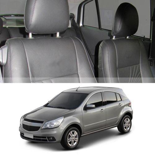 Revestimento-Banco-Couro-Chevrolet-Agile-2010-a-2018-Preto-100por-cento-Couro-Legitimo-Bipartido-15-connectparts---1-