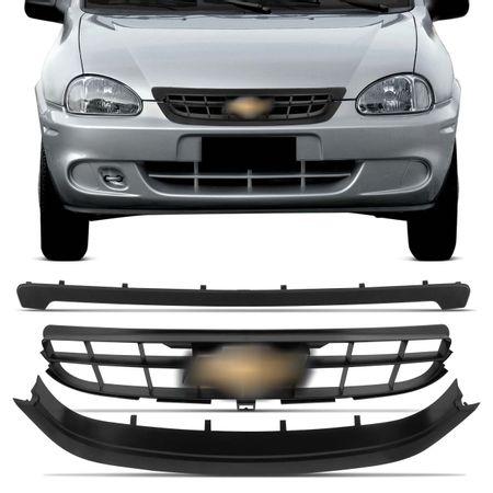 Grade-Corsa-Classic-2009-2010-Preta-3-Pecas-com-Emblema-connect-parts--1-