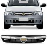 Grade-Dianteira-Corsa-Hatch-Sedan-03-a-12-Montana-03-a-10-Preta-Friso-Cromado-Gravata-Dourada-connect-parts---1-