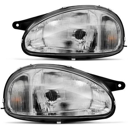 Farol-Corsa-Hatch-Sedan-Wagon-1994-a-2002-Pick-Up-1994-a-2004-Classic-2003-a-2010-Mascara-Cromada-connectparts-2-
