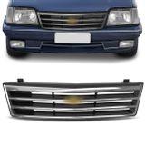 Grade-Dianteira-Monza-88-89-90-Friso-Cromado-Emblema-Central-connectparts-1-