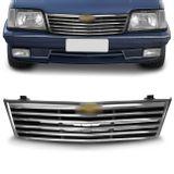 Grade-Dianteira-Monza-88-89-90-Frisos-Cromados-Emblema-Superior-connectparts-1-