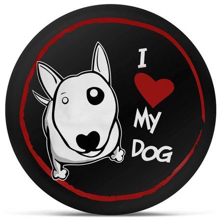 Capa-de-Estepe-Crossfox-05-a-17-I-Love-My-Dog-Preto-Branco-e-Vermelho-Com-Elastico-connectparts--2-