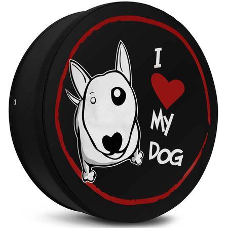 Capa-de-Estepe-Crossfox-05-a-17-I-Love-My-Dog-Preto-Branco-e-Vermelho-Com-Elastico-connectparts--3-