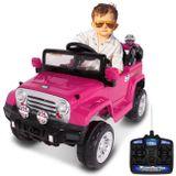 carro-eletrico-carrinho-infantil-jipe-trilha-rosa-com-controle-remoto-auxiliar-p2-mp3-12v-2-portas-connectparts--1-