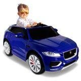 carro-eletrico-carrinho-infantil-jaguar-f-pace-2-azul-controle-remoto-entrada-mp3-usb-12v-2-portas-connectparts--1-