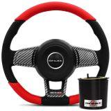 volante-esportivo-mk7-base-reta-preto-e-vermelho-e-carbon---cubo-gol-g1-saveiro-passat-parati-voyage-connectparts--1-