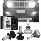 Par-Lampadas-Ultra-LED-Jeep-Renegade-2015-Efeito-Xenon-Farol-Alto-H4-Baixo-H4-e-Milha-H11-6000K-connect-parts-1-