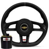 Volante-Esportivo-Golf-Gti-Preto---Cubo-3210---Emblema-Chevrolet-connect-parts--1-