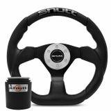 Volante-Esportivo-Shutt-SRB-Preto-com-Acionador-Buzina---Cubo-Gol-Golf-Linha-VW-connect-parts--1-