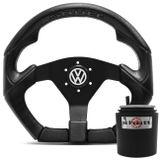 Volante-Shutt-S3R-Basic-Line-Com-Detalhe-Preto-Com-Acionador-Buzina---Cubo-Gol-Golf-Linha-VW-connect-parts--1-