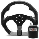 Volante-Shutt-S3R-Basic-Line-Com-Detalhe-Cinza-Com-Acionador-Buzina---Cubo-Gol-Golf-Linha-VW-Connect-Parts--1-