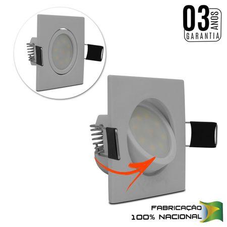 kit-5-luminarias-teto-spot-led-2w-quadrada-3000k-mini-dicroica-branco-quente-bivolt-embutir-sancas-connectparts---2-