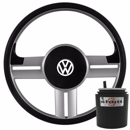 Volante-Gol-Saveiro-Rallye-Surf-Slim-Prata-Com-Cubo-Vw-Gol-P-Connect-Parts--1-