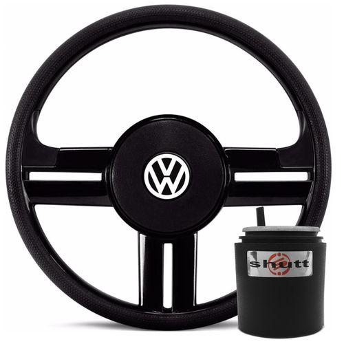 Volante-Esportivo-Rallye-Slim-Preto---Cubo-Gol-Voyage-Kombi-Golf-Bora-Polo-Jetta-Fox-Passat-99-a-14-Connect-Parts--1-