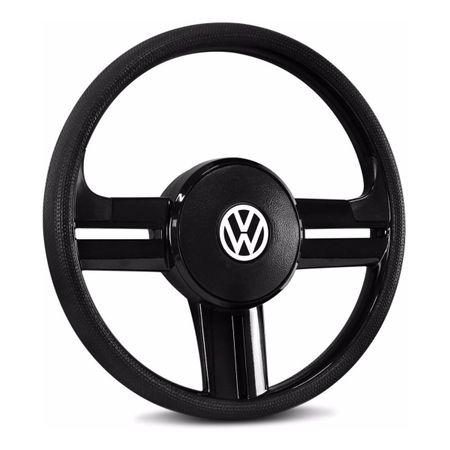 Volante-Esportivo-Rallye-Slim-Preto---Cubo-Gol-Voyage-Kombi-Golf-Bora-Polo-Jetta-Fox-Passat-99-a-14-Connect-Parts--2-