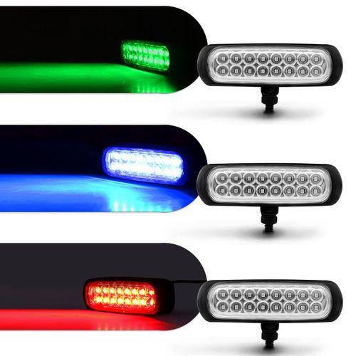 Kit-Farol-Milha-Auxiliar-Retangular-3-em-1-Slim-Universal-16-LEDs-12V-24V-Todas-as-Cores-Modulo-de-C-connectparts