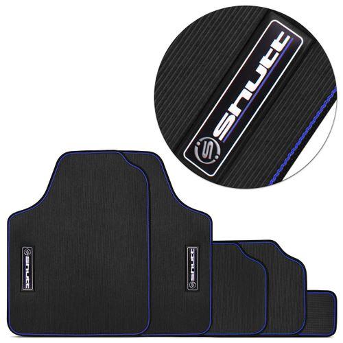 Jogo-de-Tapetes-Shutt-Preto-com-Borda-Azul-Universal-PVC-Lavavel-Impermeavel-Base-Antiderrapante-connectparts--1-