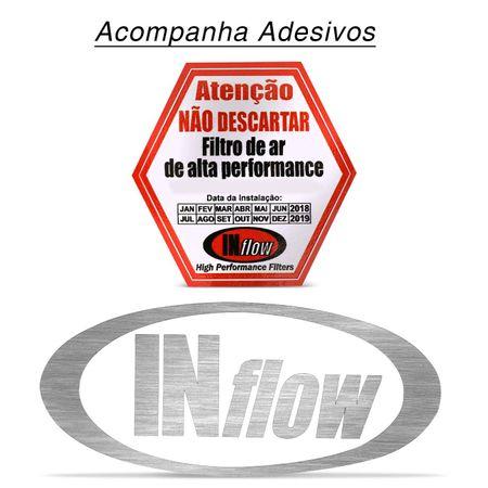 filtro-de-ar-esportivo-inflow-sonata-azera-santa-fe-sorento-sportage-inbox-hpf8450---brinde-connectparts--5-