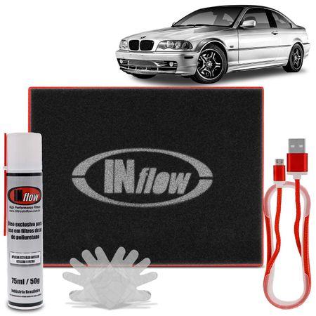 Filtro-De-Ar-Esportivo-Inbox-Retangular-Hpf8700-Inflow-Bmw-Preto-E-Vermelho-Com-Logomarca-Branca-connectparts---1-