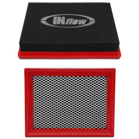 Filtro-De-Ar-Esportivo-Inbox-Retangular-Hpf8700-Inflow-Bmw-Preto-E-Vermelho-Com-Logomarca-Branca-connectparts---3-