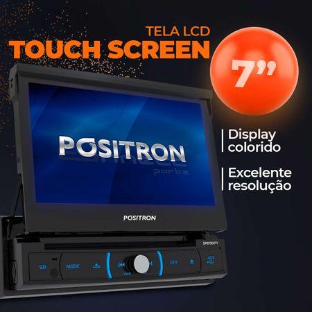 "central-multimidia-retratil-positron-sp6730dtv-7""-1-din-espelhamento-android-bt-dvd---camera-re-connectparts--4-"