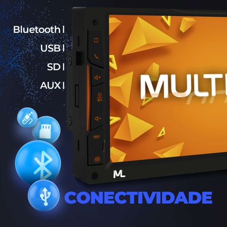 central-multimidia-gps-tv-multilaser-2-din-evolve-link-gp338-7-bt-espelhamento-android-iphone-mp3-connectparts--3-