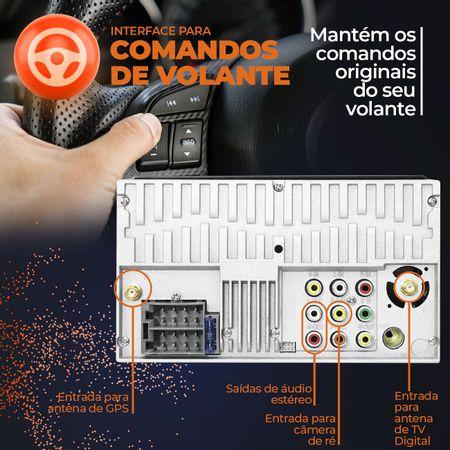 central-multimidia-gps-tv-multilaser-2-din-evolve-link-gp338-7-bt-espelhamento-android-iphone-mp3-connectparts--7-