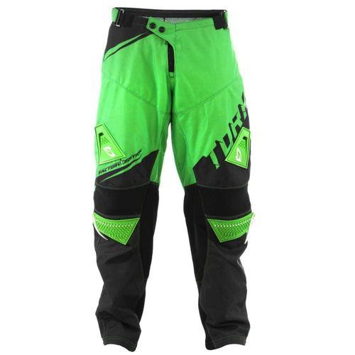 Calça Motocross Trilha Pro Tork Factory Edition Verde e Preto