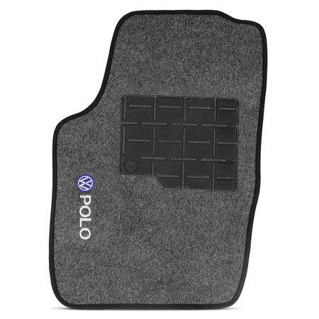 Jogo-de-Tapetes-Carpete-Polo-Hatch-Sedan-2007-a-2016-Grafite-Bordado-5-Pecas-Connect-Parts--4-