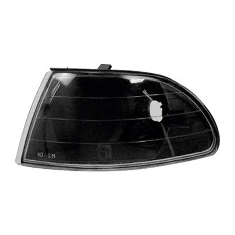 Lanterna Dianteira Pisca Honda Civic Sedan 4 Portas Black 02 03 04 05
