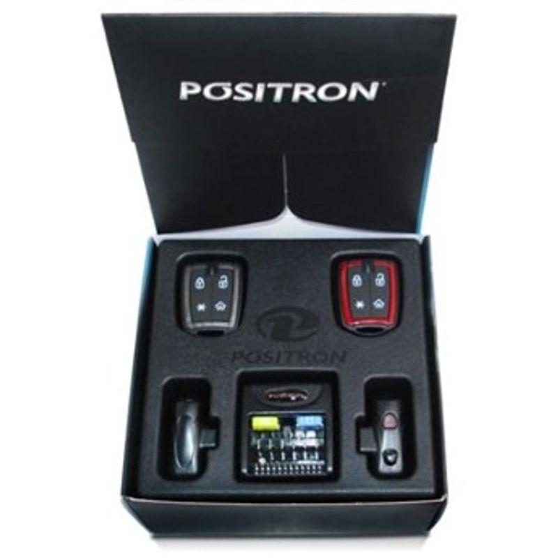 Alarme de Carro Pósitron Px 2011 com Trava Elétrica e Módulo 2P