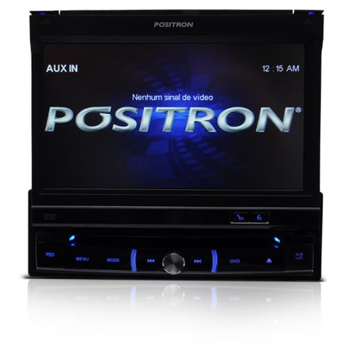 DVD Automotivo Positron SP6111AV Tela Retratil 7 Polegadas Mp3 Usb
