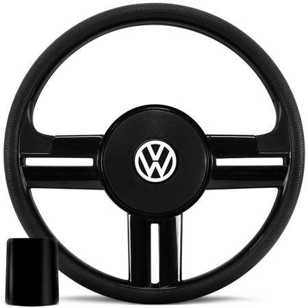 Volante-Rallye-Slim-Preto-Gol-Parati-Saveiro-G1-Passat-Cubo-connect-parts-1-