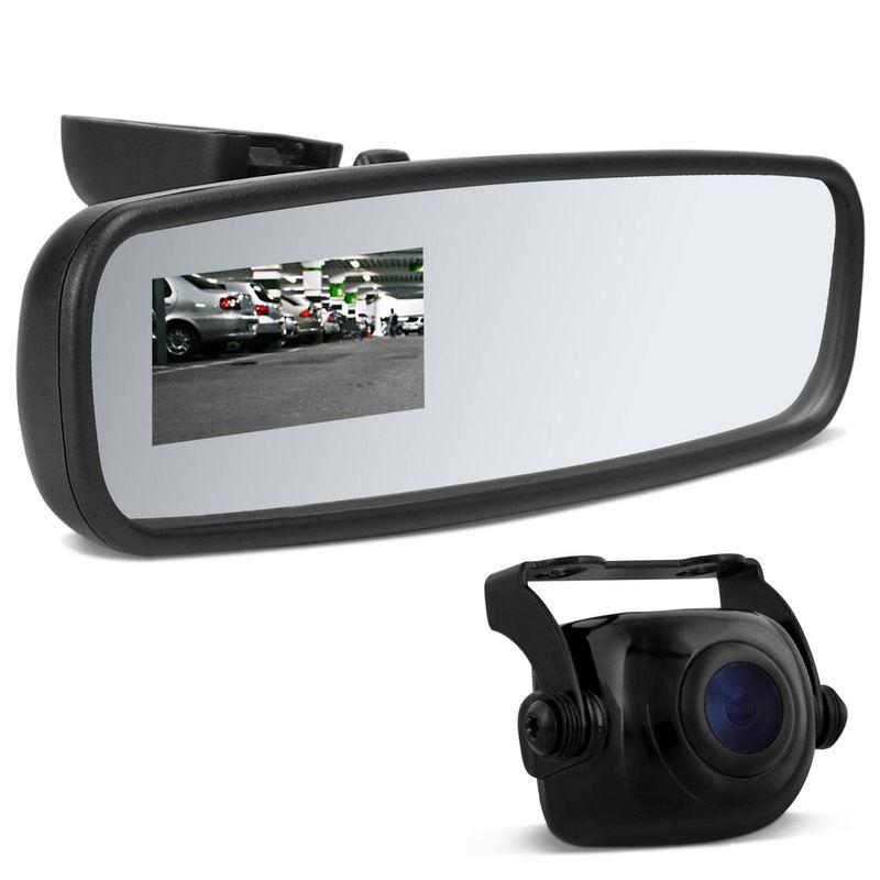 Retrovisor interno Corolla com Câmera De Ré Automotiva