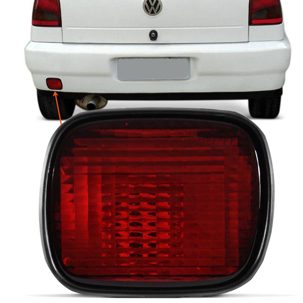 Lanterna Luz de Neblina do Para-choque Traseiro Gol Parati G2 Gol Special  Com Soquete 02209a49c9136