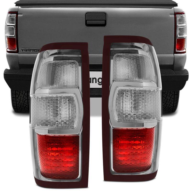 Lanterna Traseira Ford Ranger 10 a 12 Bicolor