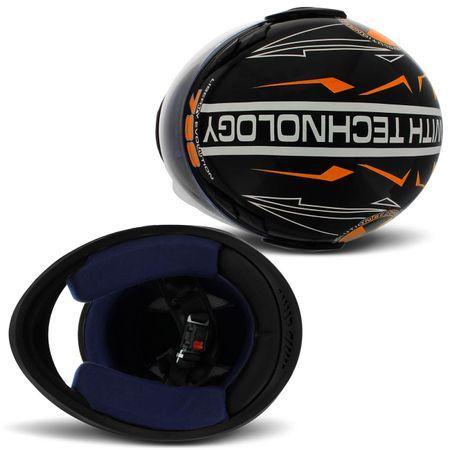 Capacete-Fechado-Pro-Tork-Evolution-Segunda-Geracao-2G-788-Laranja-com-Fundo-Preto-Connect-Parts--1-