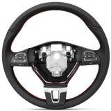 Volante-Original-VW-Comando-de-Som-Preto-Costura-Vermelha-Sem-Cubo-Sem-Tampa-Gol-Voyage-G5-G6-Saveiro-G5-G6-Fox-Crossfox-Spacefox-Connect-Parts--1-