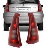 516150d6808 Lanterna Traseira Citroen C3 2001 2002 2003 2004 2005 Tuning Vermelha