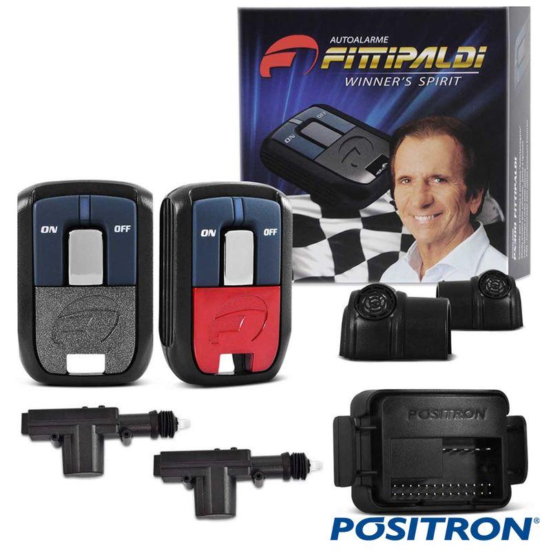 Alarme de Carro Pósitron Px Fx 2011 com Trava Elétrica 2P