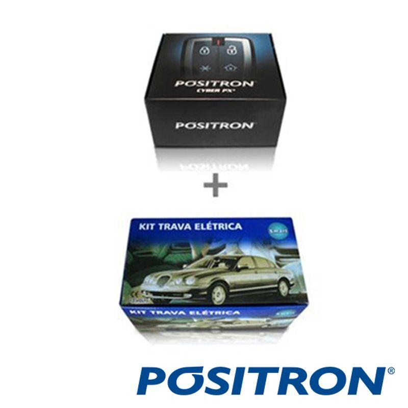Alarme de Carro Pósitron Px 2011 com Trava Elétrica 2P