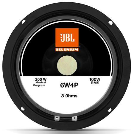 Woofer-Jbl-Selenium-Profissional-6-Polegadas-100W-Rms-8-Ohms-6W4P-connectparts--4-