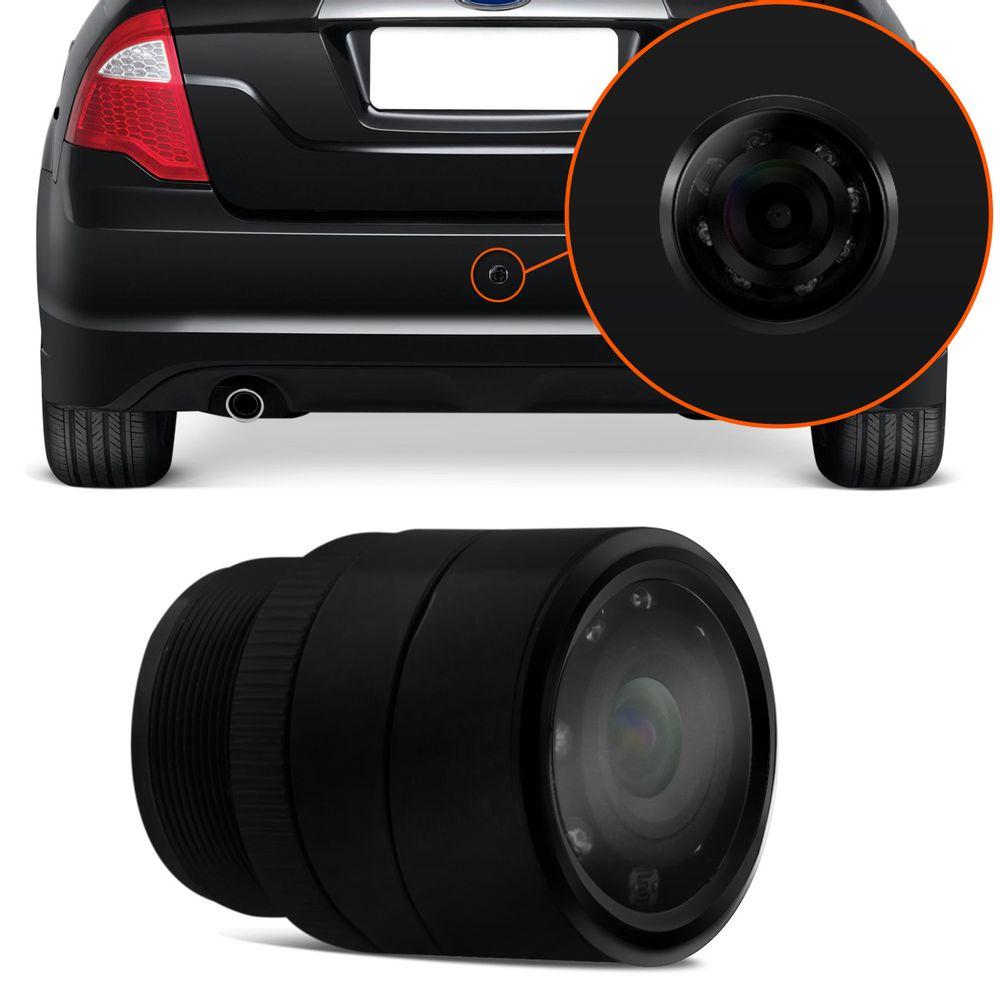 919b69c6e6512 Câmera de Ré Colorida Multilaser AU002 Visão Noturna Para-choque ...