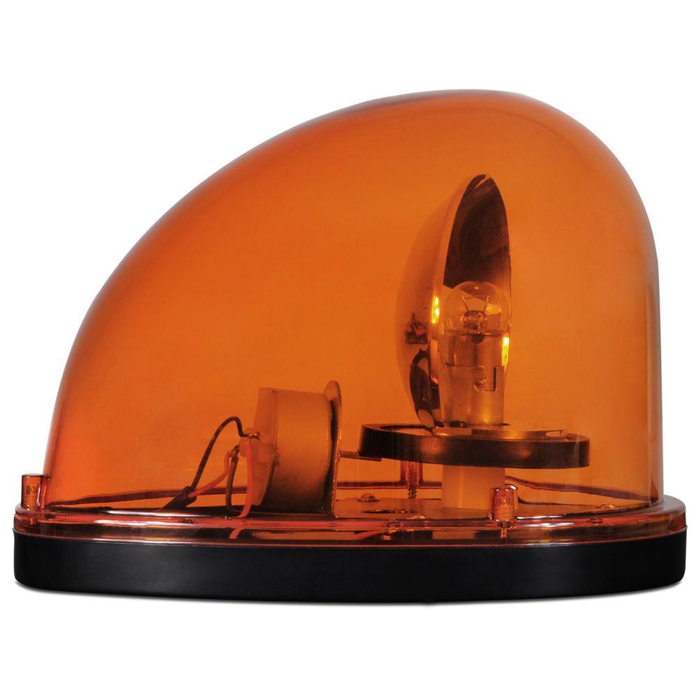 3ce0b5b0b8 Giroflex Luz de Emergência Sinalizador sem Sirene 12V Laranja